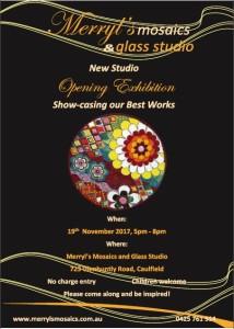 Merryl's Mosaics Opening Exhibition