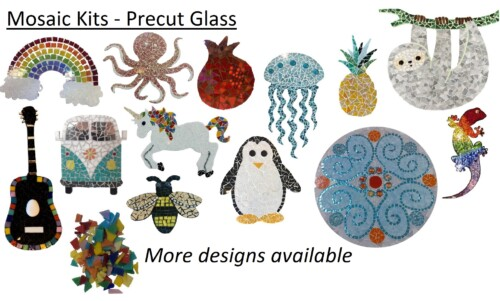 Mosaic Kits - Precut Glass
