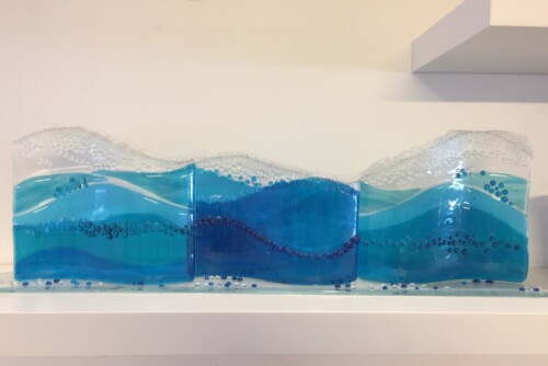 Fused Glass Pieces